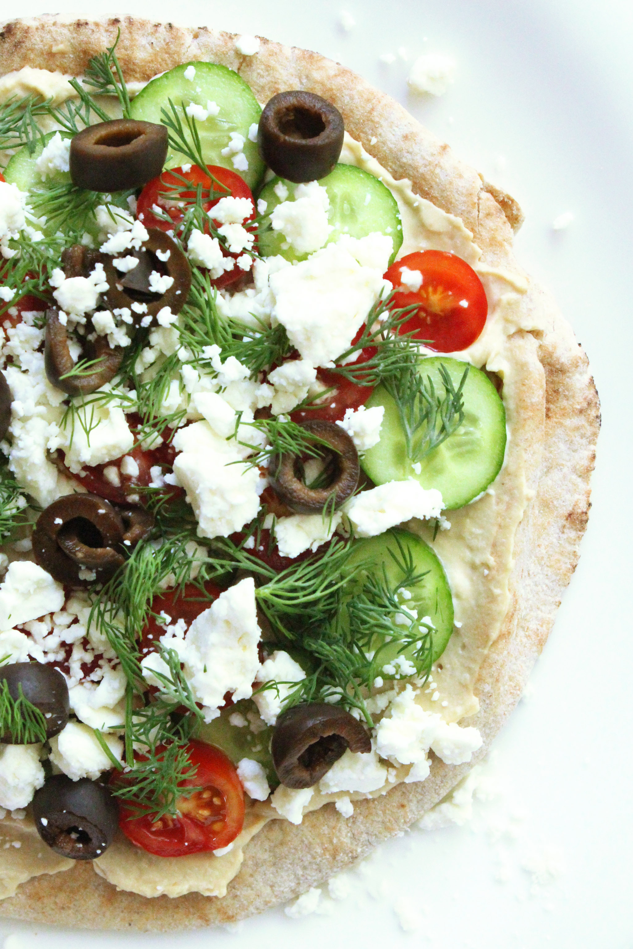 Tabbouleh  Pita Pizza