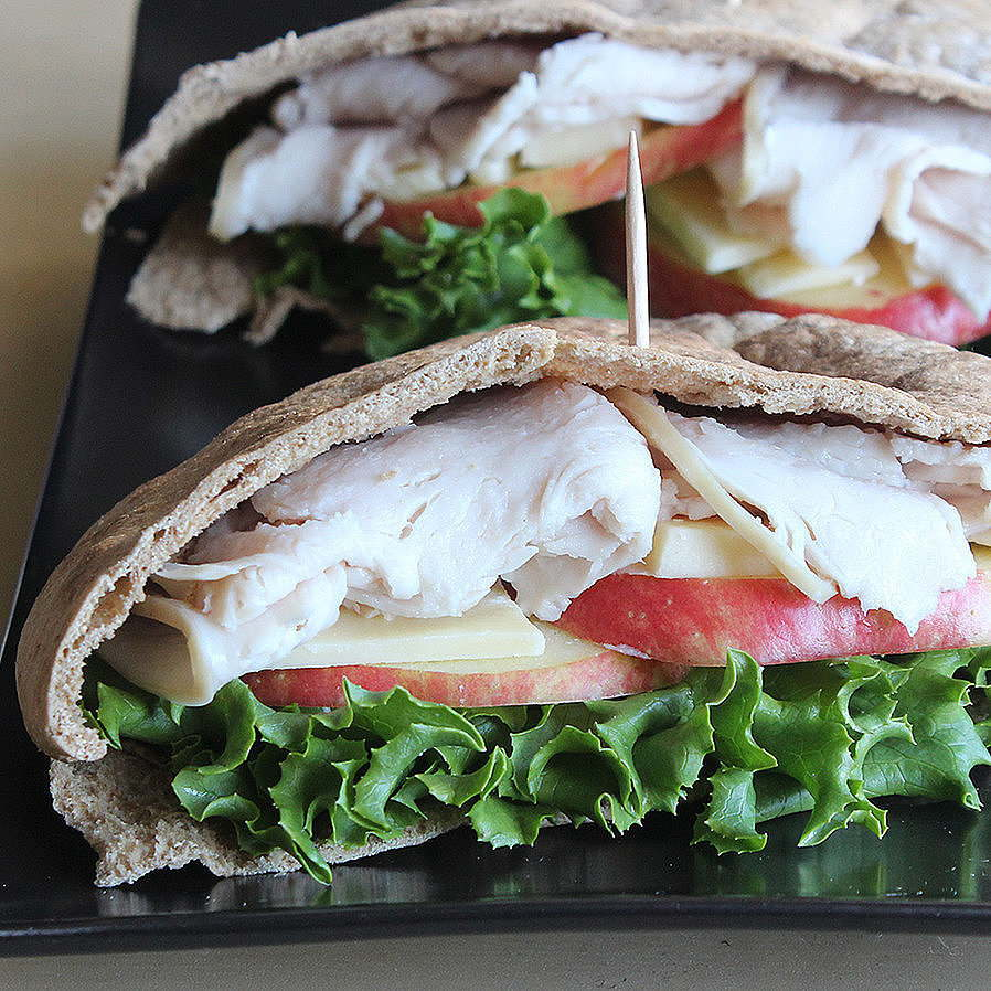 Turkey Apple Pita Pocket
