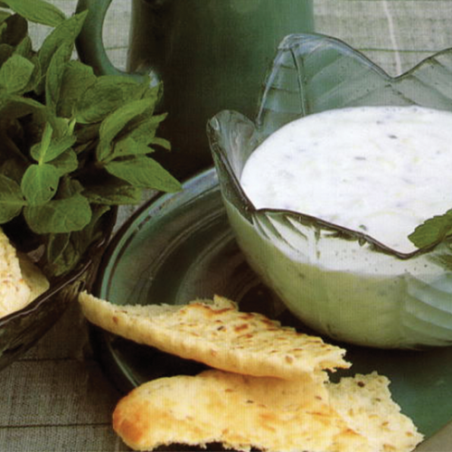 Pita-Pocket-Middle-Eastern-Yogurt-Cucumber-Dip