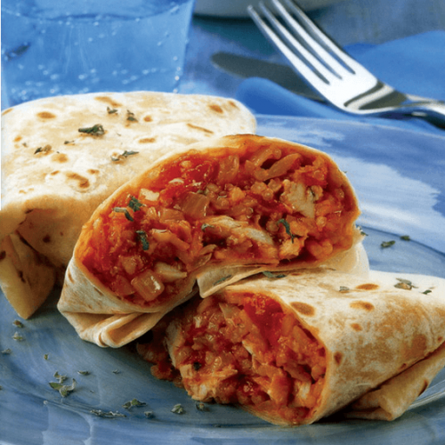 Tortilla-Burritos-Chicken-Rice