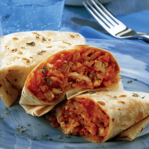 Tortilla-Burritos-Chicken-Rice