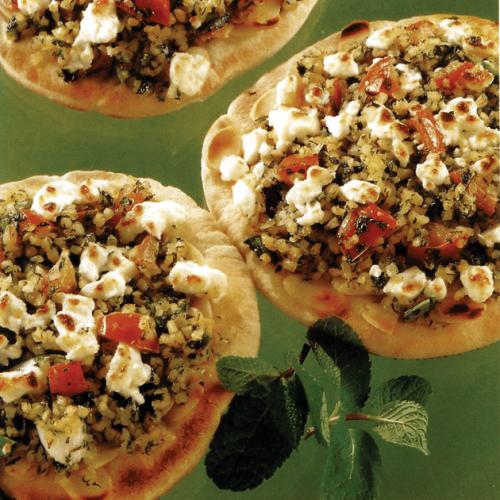 Tortilla-Tabbouleh