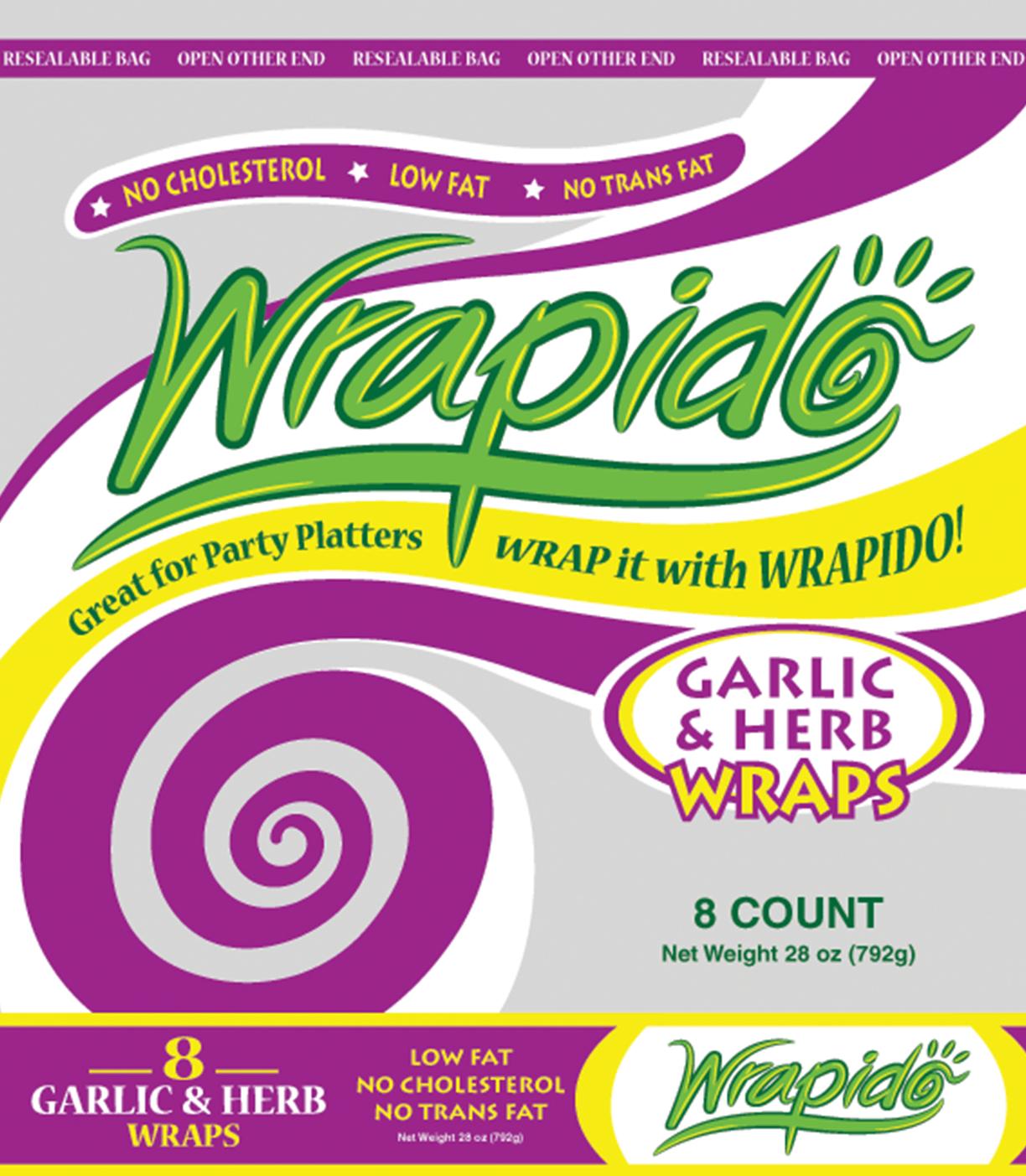 WrapidoGarlic&Herb