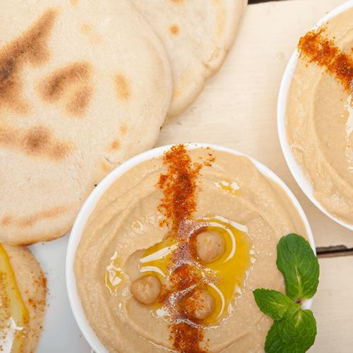 Papa-Pita-Hummus