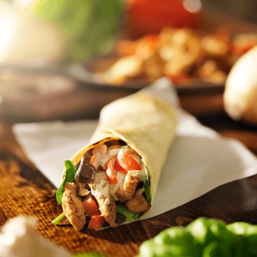 Tortilla-Chicken-Wrap
