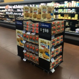 Walmart 2×4 Permanet Display