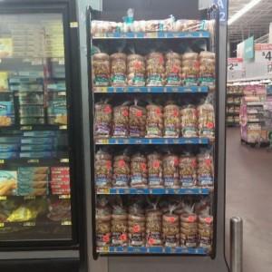 Walmart Bagels Shadow Box