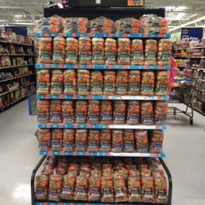 Walmart Best Bagel End Cap