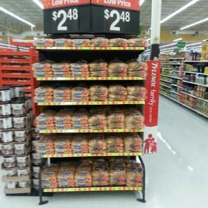 Walmart Buns End Cap