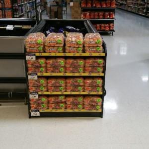 Walmart Permanent Buns Bunker Display