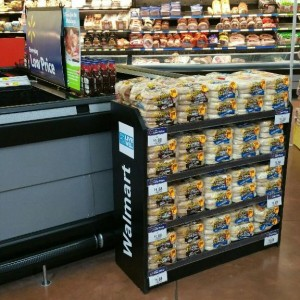 Walmart Permanent Muffin Display