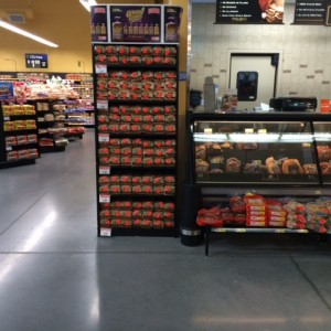 Walmart Permanent PP Display