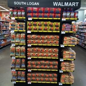 Walmart South Logan Permanent End Cap