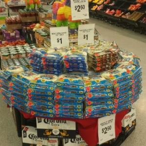 Walmart Tortilla Display