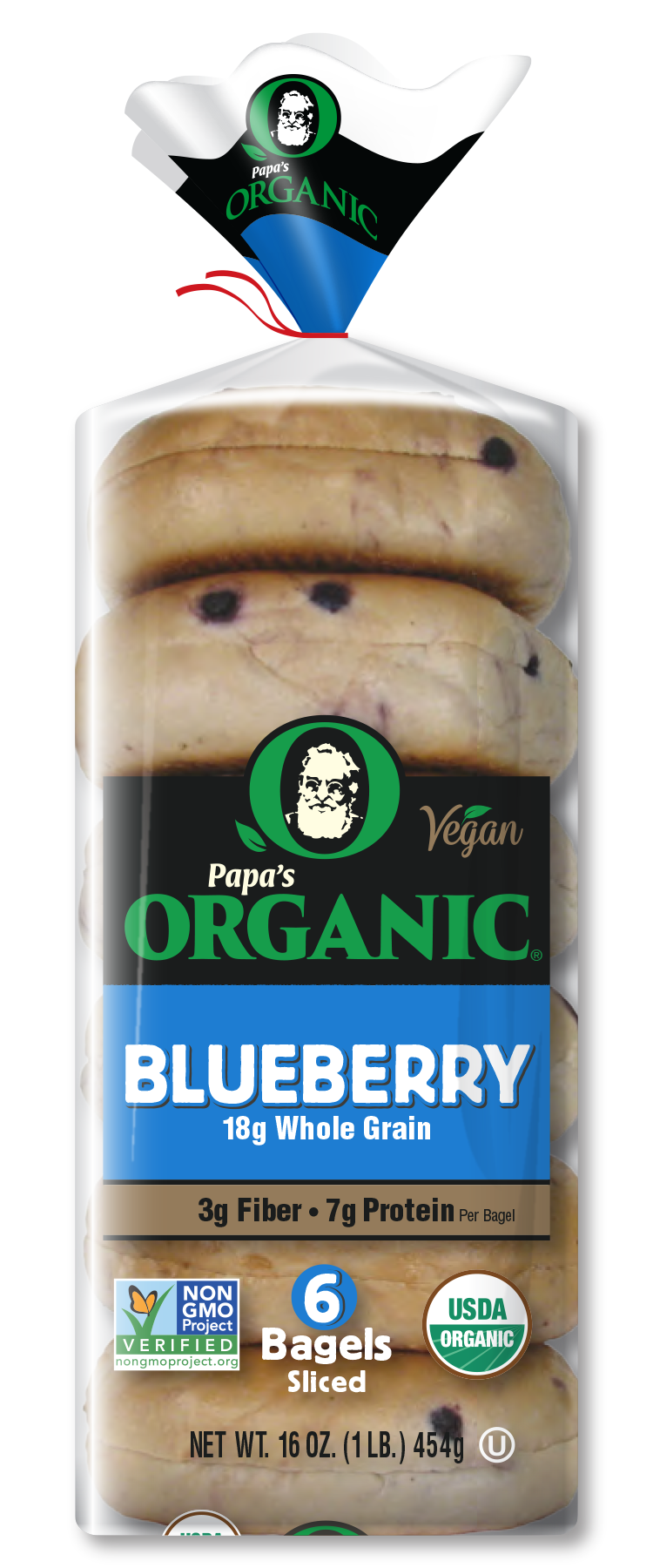 Papa's Blueberry Bagels