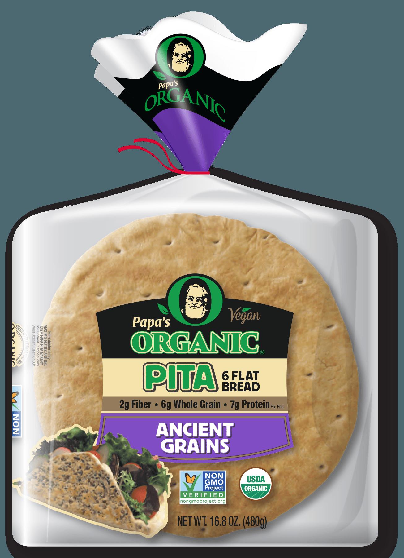 Papa's Organic Ancient Grains Pitas