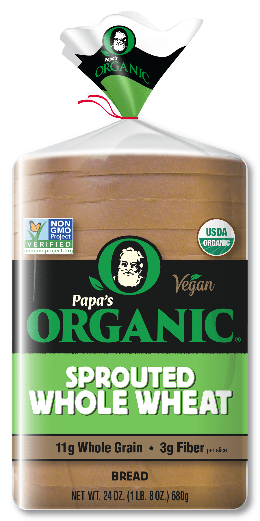 Papa's Organic Sprouted Wheat