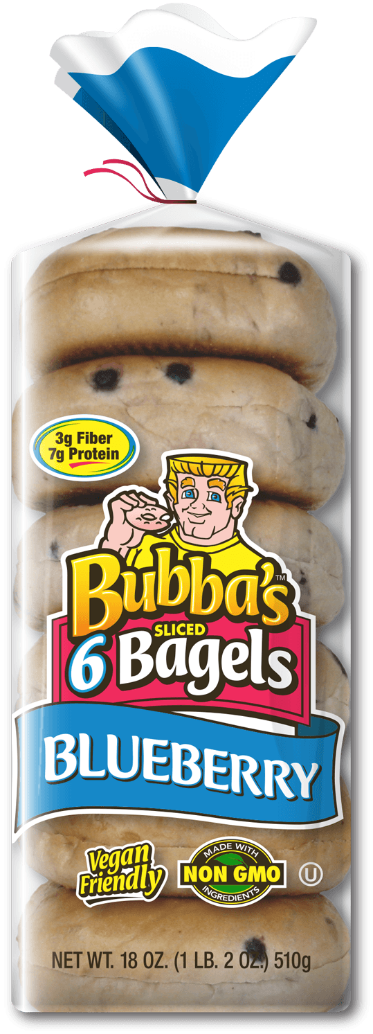 Blueberry-bagels